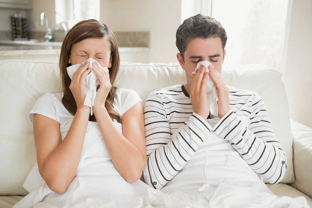повышенное давление при простуде