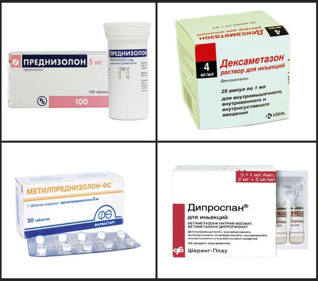 Глюкокортикоиды препараты