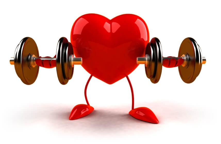 Снижается нагрузка на сердце