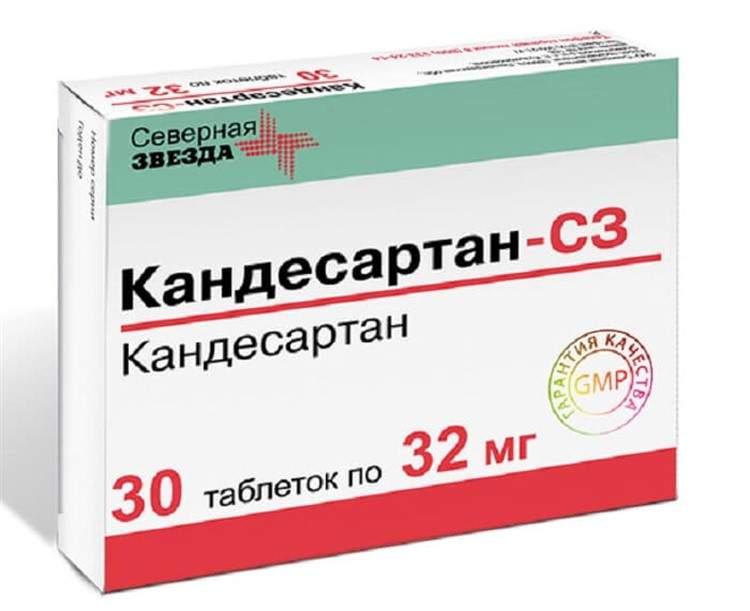 Candesartan таблетки инструкция