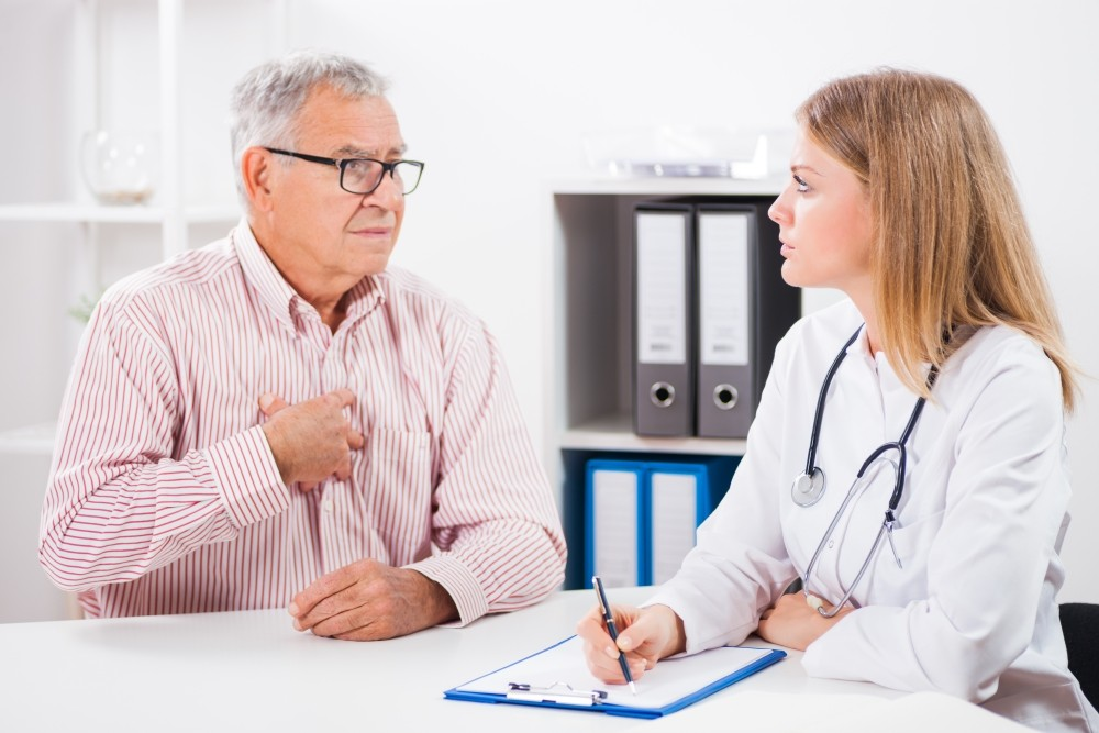 Доложить врачу о результатах лечения