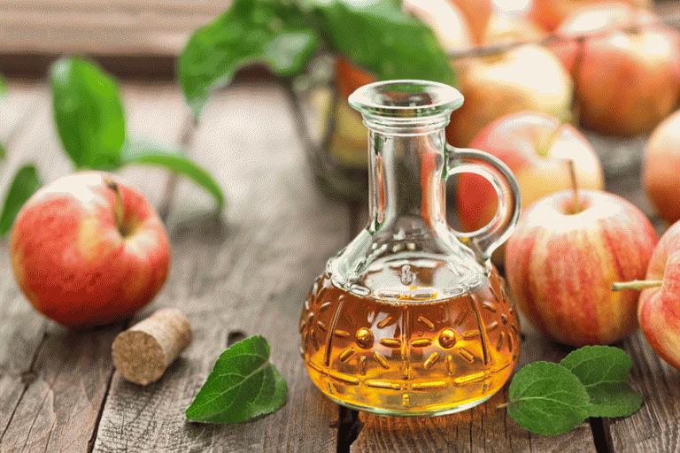 Компрессы из яблочного уксуса и воды