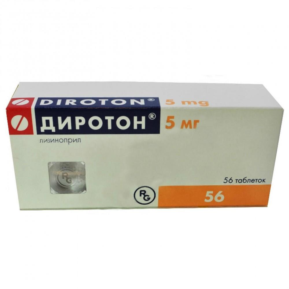 Диротон таблетки инструкция по применению цена