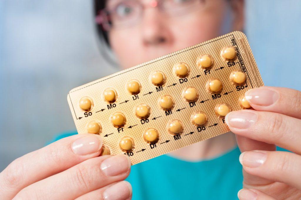 Прием противозачаточных таблеток