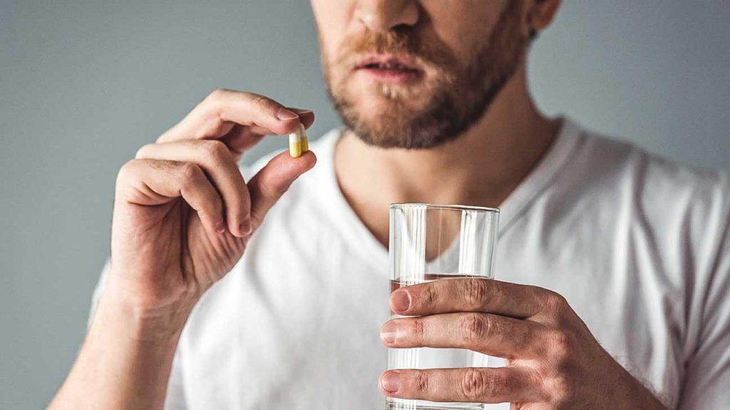 Выпить таблетку и давление упадет