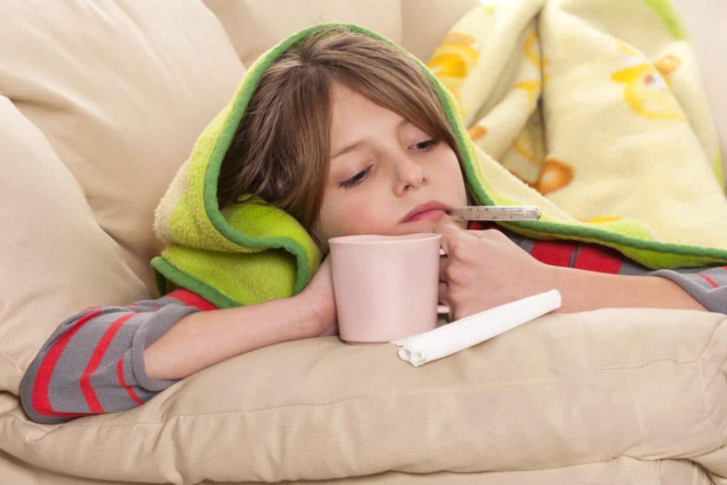 Ослабление иммунитета у подростка