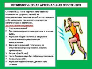 Физиологическая гипотензия
