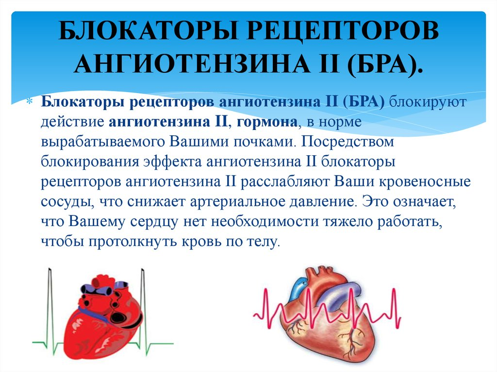 Блокаторы ангиотензина-2