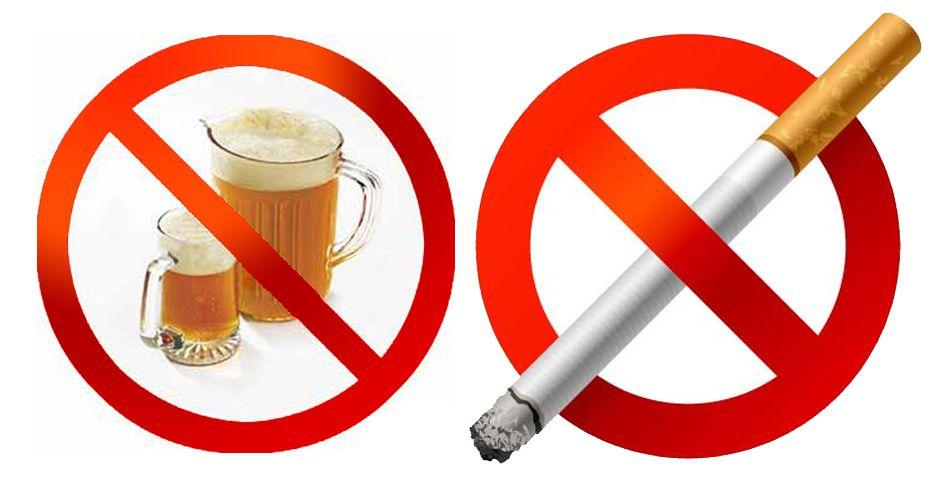 Отказаться от вредных привычек