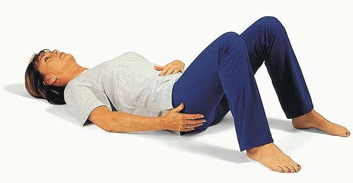 Упражнение на расслабление живота