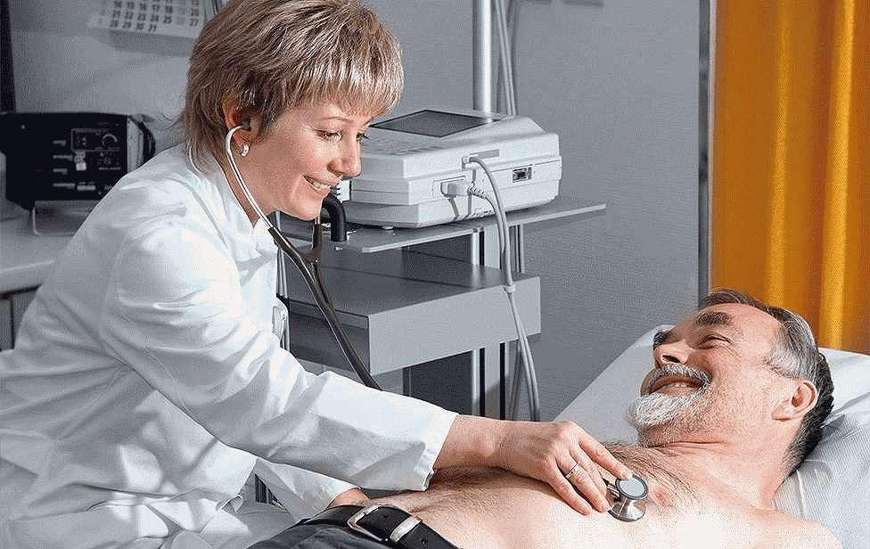 Наблюдение у кардиолога