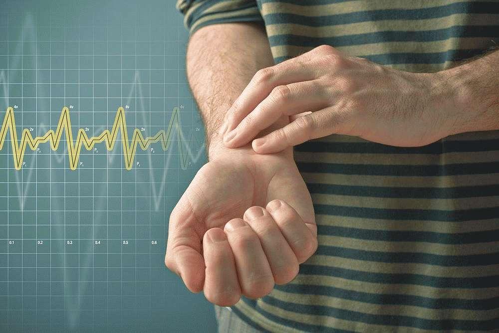 Увеличение частоты сердцебиения