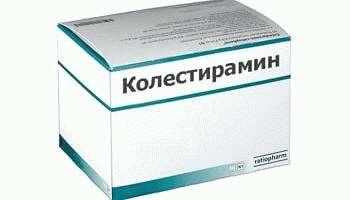 Инструкция по применению препарата Колестирамин