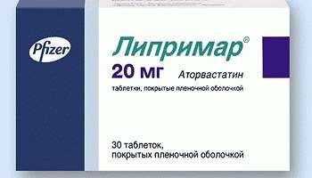 Статин третьего поколения препарат Липримар