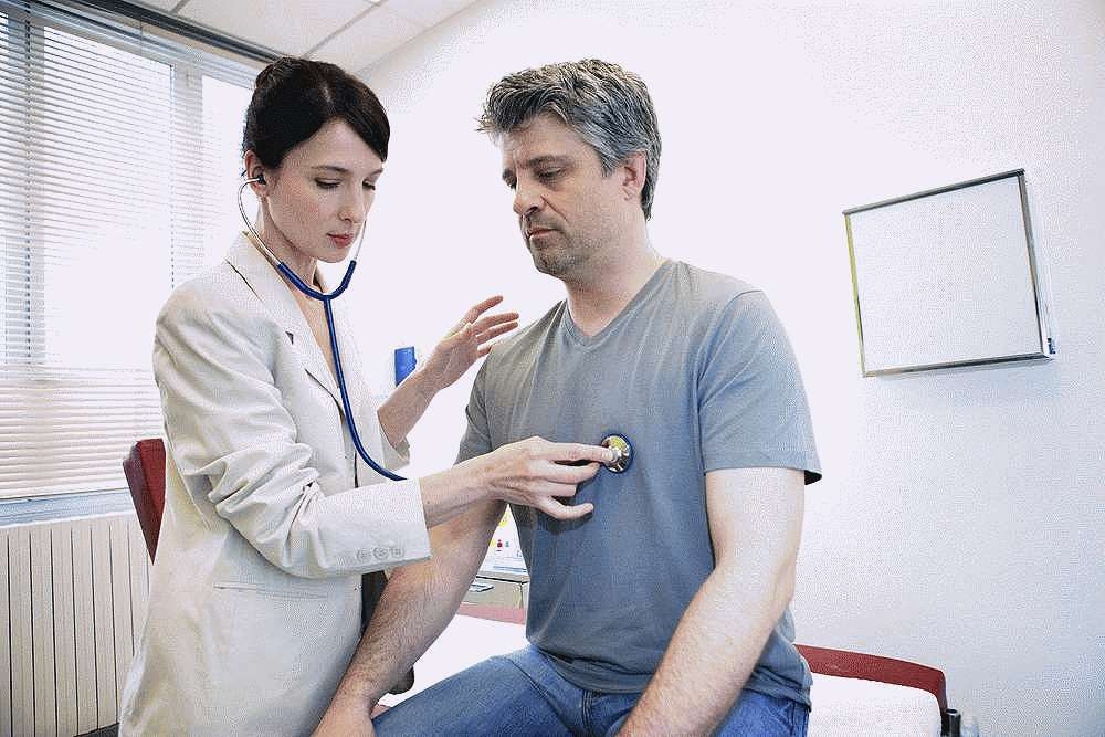 Осмотр врача кардиолога