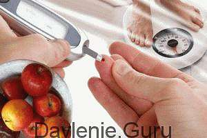 При сахарном диабете