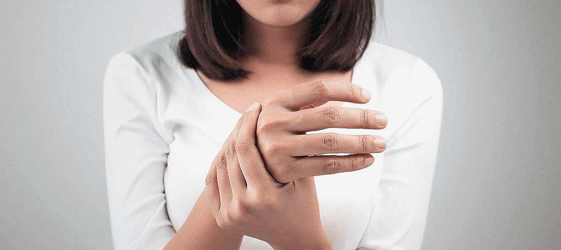 Боль в районе пальцев руки