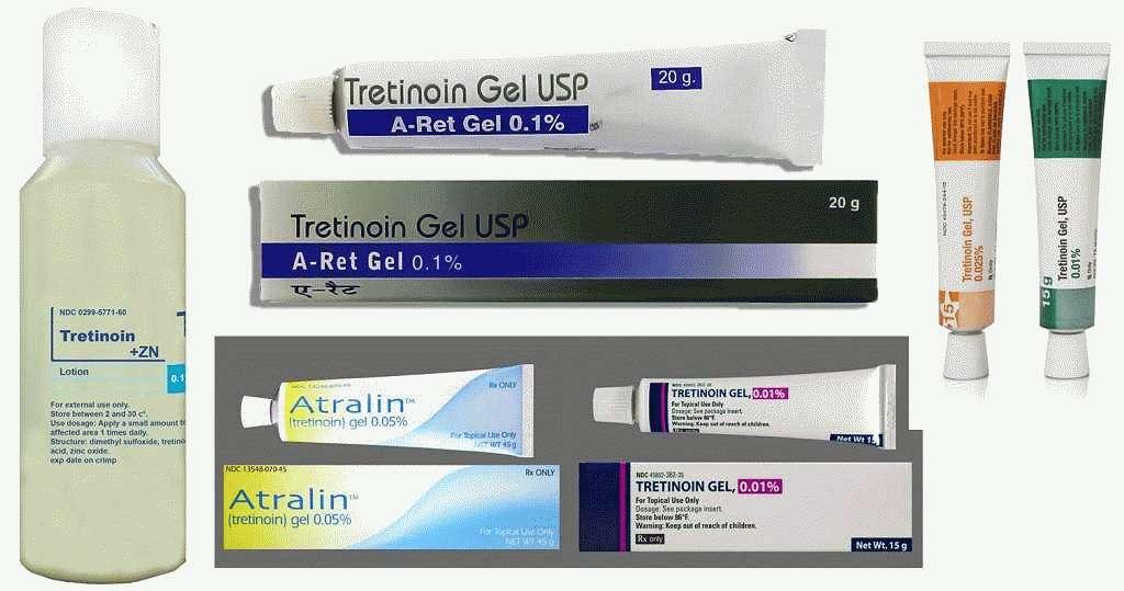 Средств с Ретиноидами