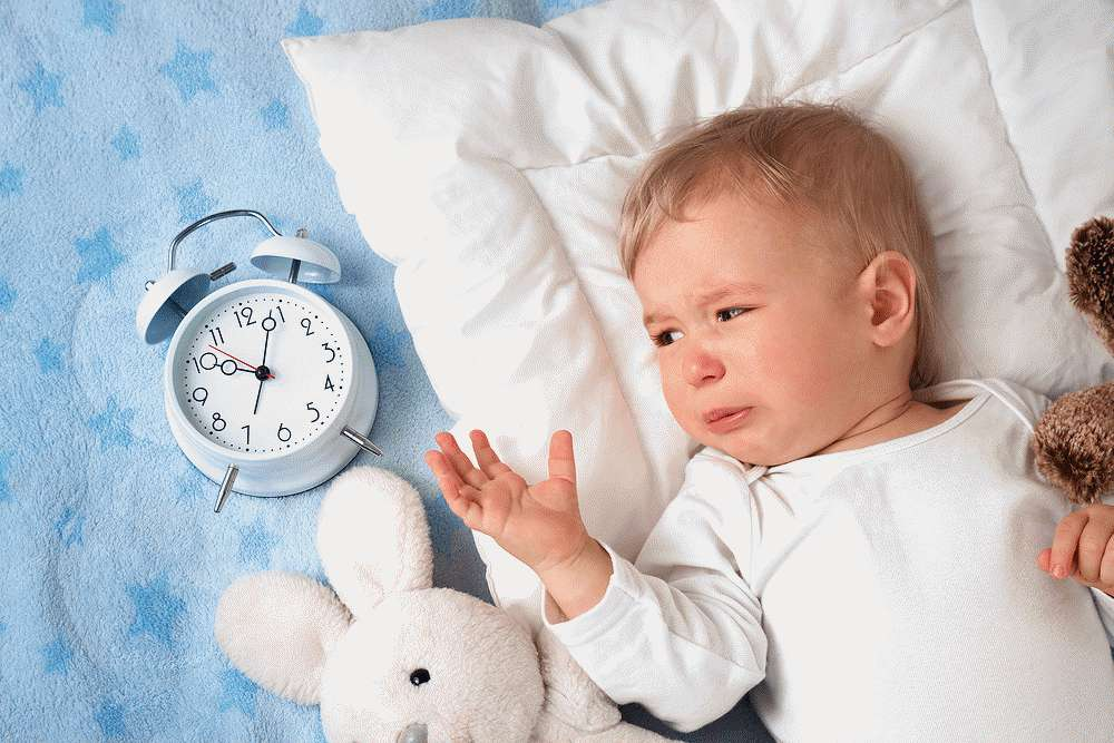 Малыш плохо засыпает