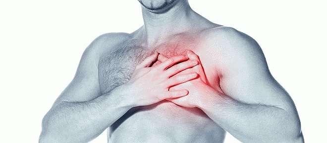 Боль в левой части груди