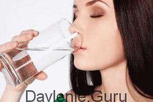 Оптимально пить вечером