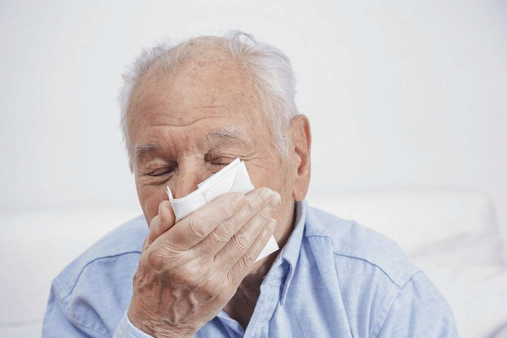 Гайморит у пожилых