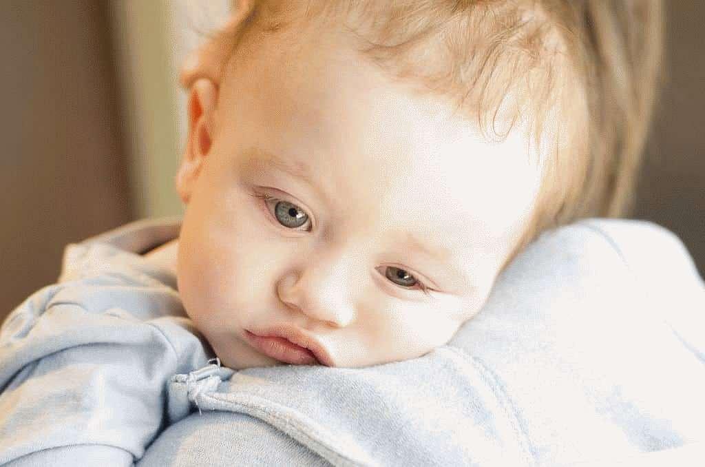 Малыш испытывает недомогание