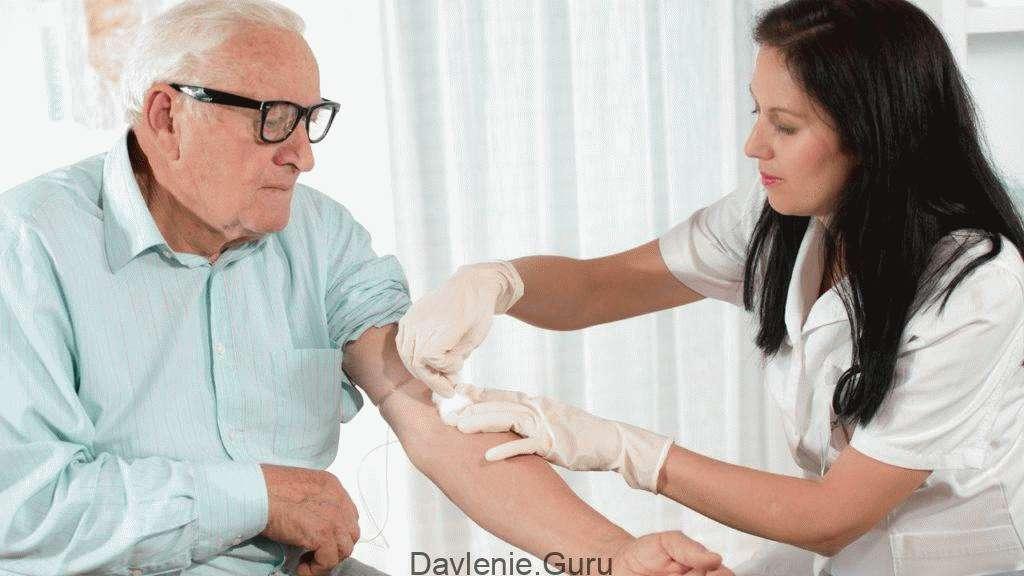 Общий анализ крови лицам старше 50 лет