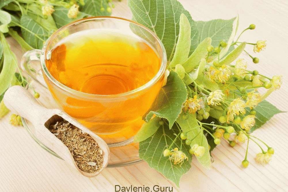 Липовый цвет чай