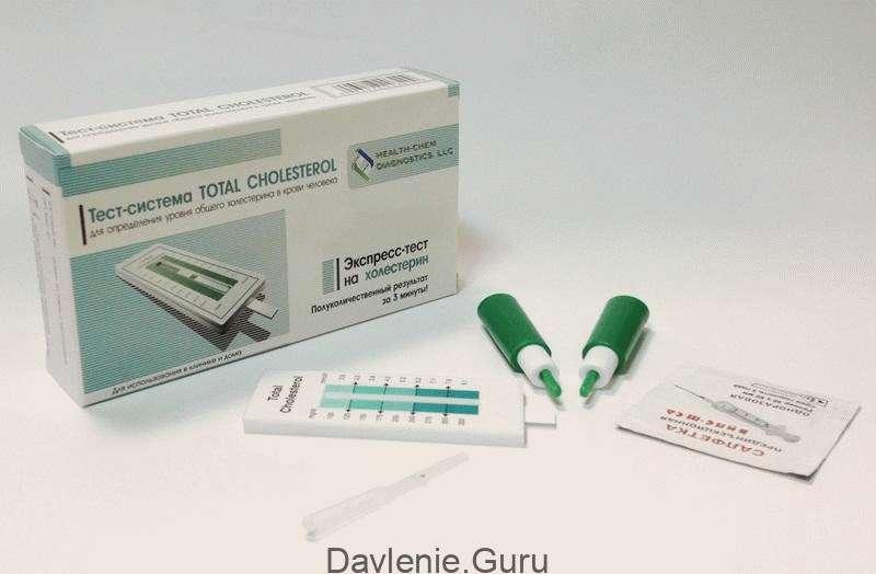 Экспресс-тест на холестерин