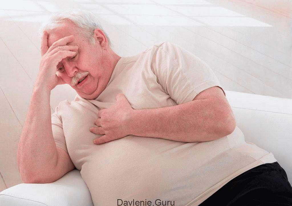 Дыхательная система страдает от ожирения