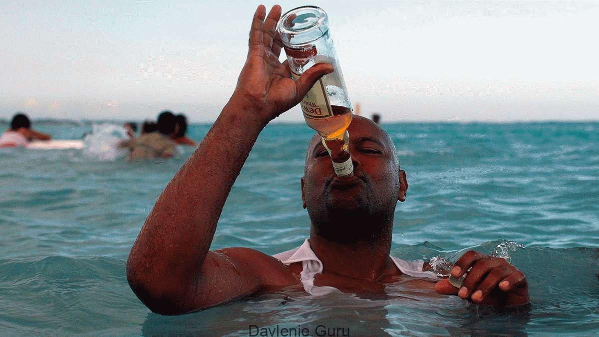 Алкоголь в жаркие месяцы