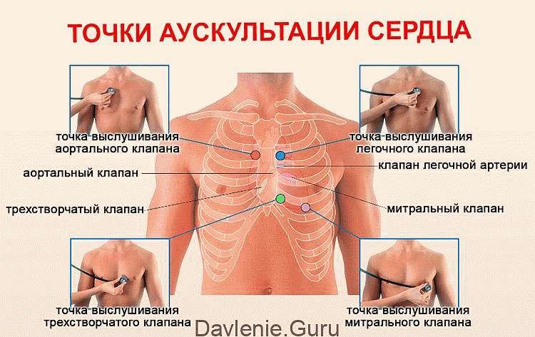 Аускультация сердца