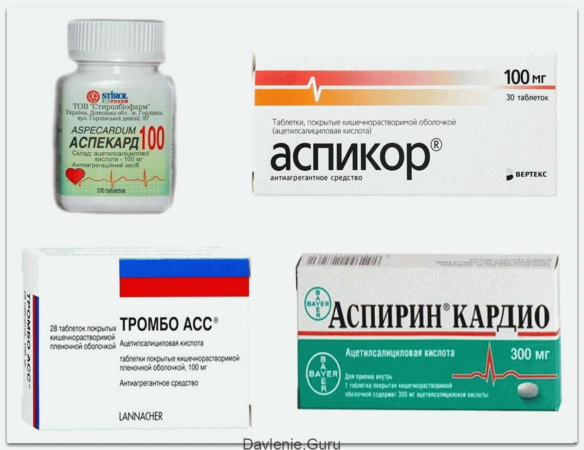 Аспирин при сердечно сосудистых заболеваних