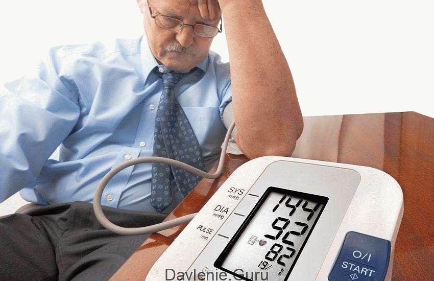 Артериальное давление высокое