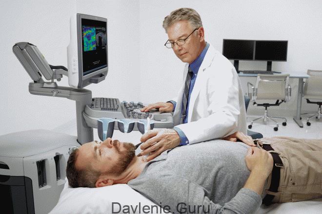 УЗИ артерий шеи