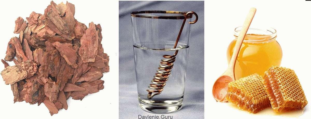 Бальзам на основе медно-серебряной воды и меда