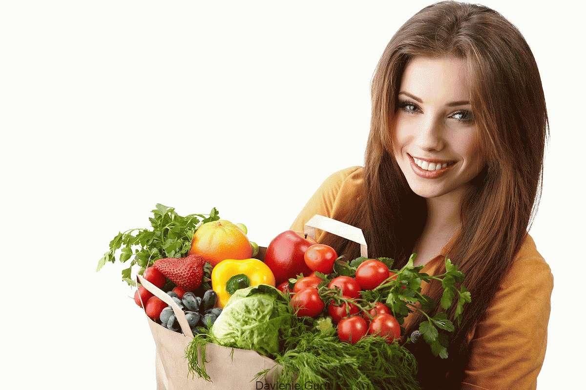 Употреблять овощи и фрукты