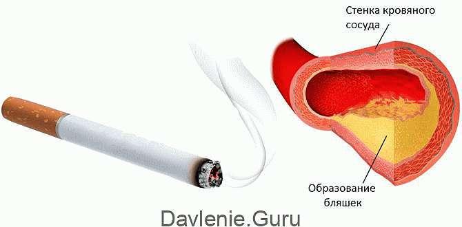 Курение плохо для сосудов