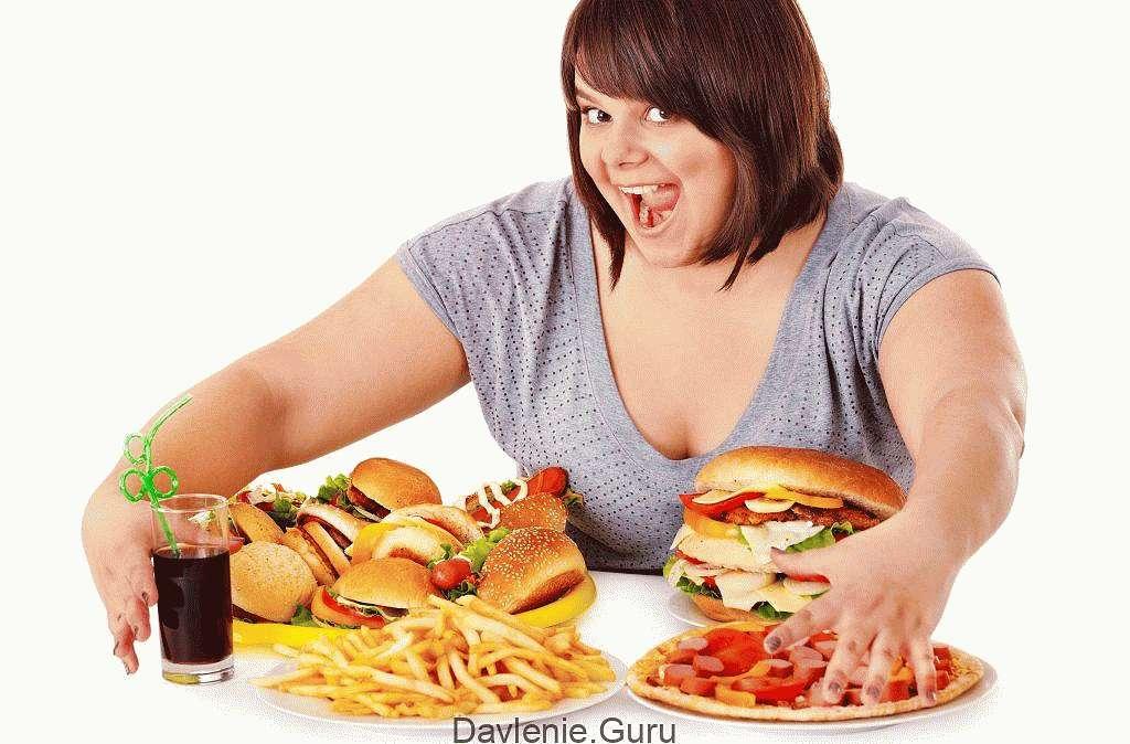 Ожирение и плохое питание