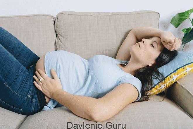 Приступ тахикардии у беременных женщин