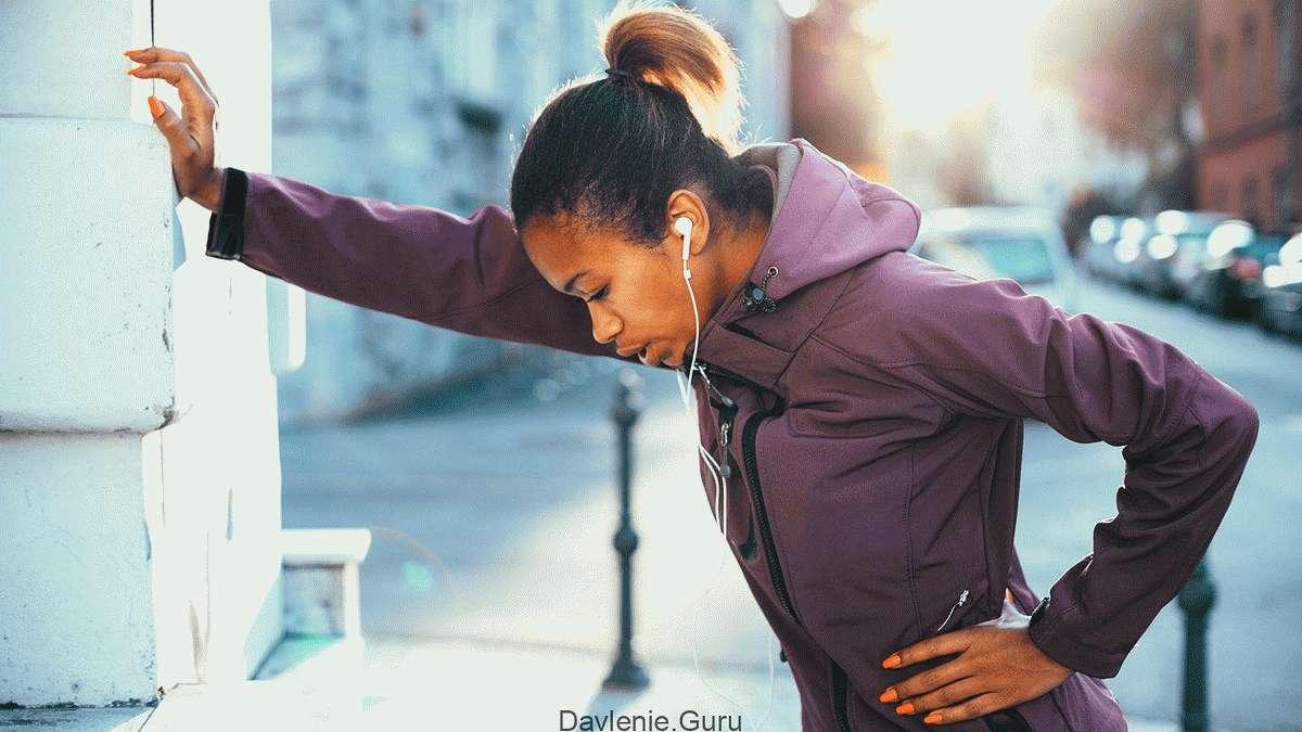 Приступ при физической нагрузкой