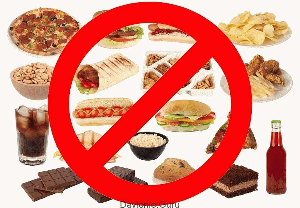 Запрещены продукты при атеросклерозе