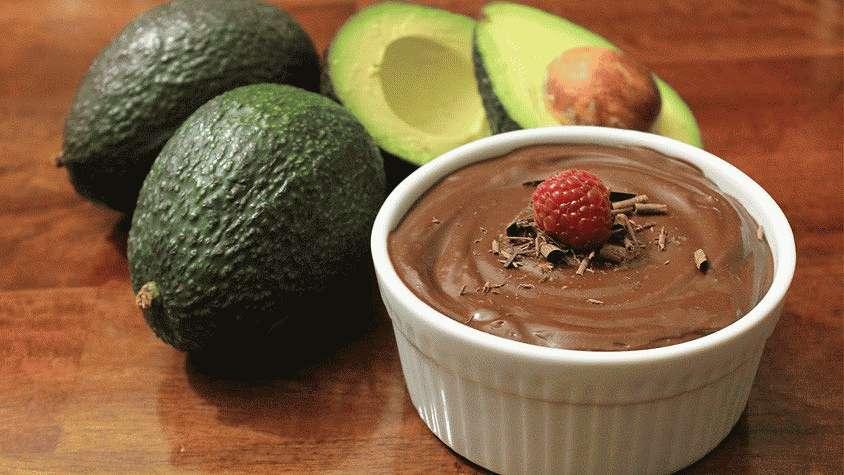 Какао с авокадо