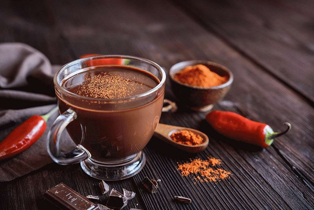 Пряный горячий шоколад для чистки сосудов